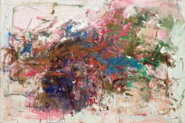 "Grandes Carrieres. 1961-62. Oil on canvas, 6' 6 3/4"" x 9' 10 1/4"". Gift of The Estate of Joan Mitchell. (443.1994) Image licenced to Chris Burnside CHEIM AND READ by Chris Burnside Usage : - 3000 X 3000 pixels (Letter Size, A4) © Digital Image © The Museum of Modern Art/Licensed by SCALA / Art Resource"